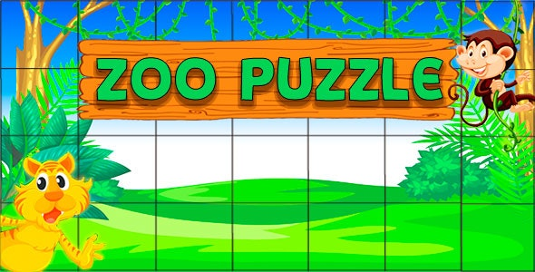 Zoo Puzzle - Game Html5 and Mobile .capx - CodeCanyon Item for Sale