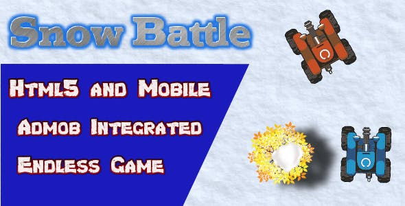 Snow Battle - HTML5 Android Ready