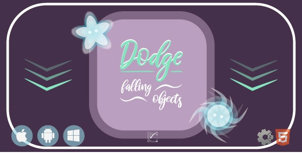 Dodge Falling Objects • HTML5 + C2 Game - CodeCanyon Item for Sale