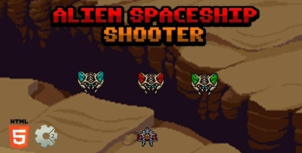 Alien Spaceship Shooter - CodeCanyon Item for Sale