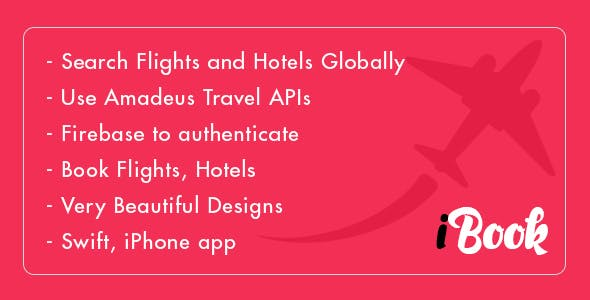 Flight and Hotel Booking - iOS - Amadeus API