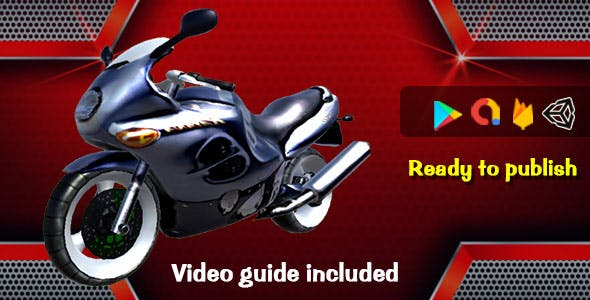 Unreal Moto Rider - Admob | Unity | Firebase
