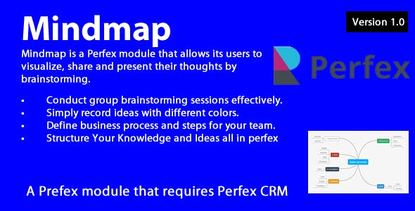 Mindmap module for Perfex CRM