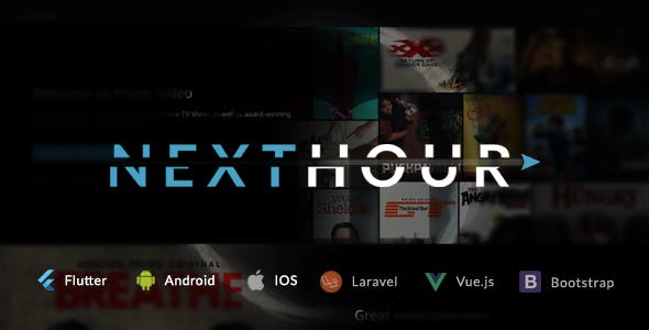 Next Hour - Movie Tv Show & Video Subscription Portal Cms Web and Mobile App