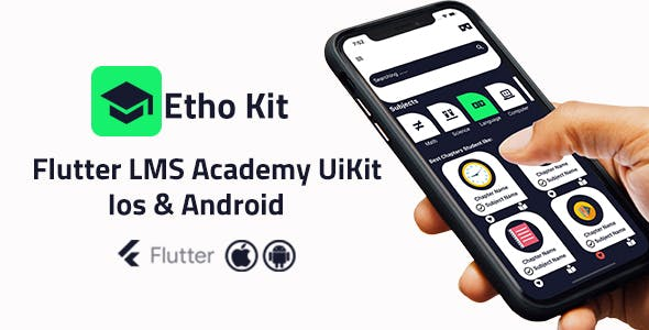 LMSKit - Flutter Course Academy  Kit - Ios and Android
