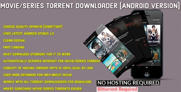 Torrent And Chill - Movie and Series Torrent search download app working with Utorrent