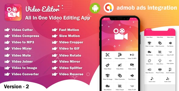 Android Video Editor - All In One Video Editor App (64bit) (version - 2)