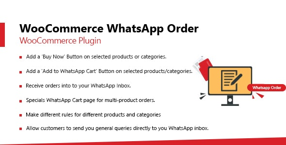 WooCommerce Whatsapp Order - CodeCanyon Item for Sale