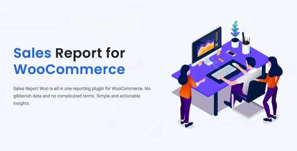 Sales Report Woo