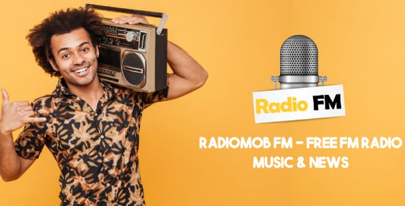 RadioMob: Free Online Radio, FM Radio App, Music & News.