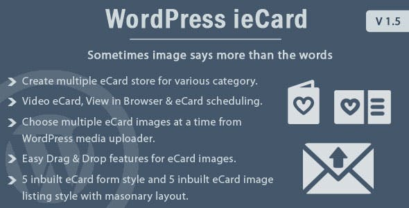 WP ieCard - WordPress eCards Plugin