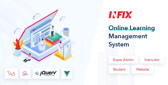 InfixLMS - Open Source Learning Management System VueJs - CodeCanyon Item for Sale
