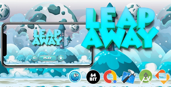 Leap Away Game Template - CodeCanyon Item for Sale