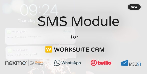 SMS Module For Worksuite CRM