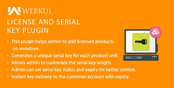 WooCommerce License and Serial Key Plugin