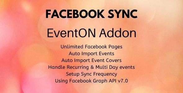Facebook Sync - EventON Addon - CodeCanyon Item for Sale