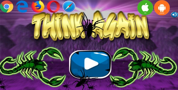 THINK AGAIN 2 [RPG-PUZZLE] (HTML5,Android,IOS)(CAPX) - CodeCanyon Item for Sale