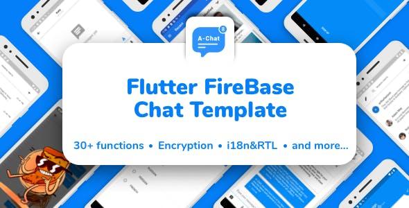 Flutter Firebase Chat Template