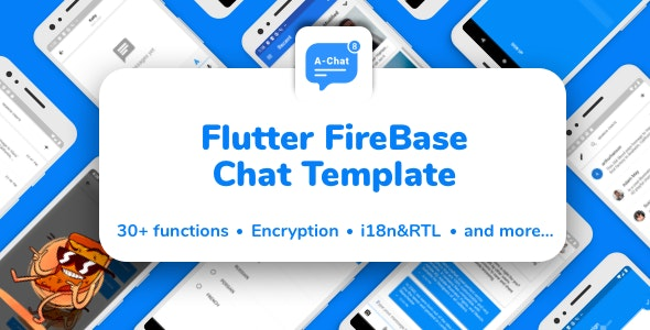 Flutter Firebase Chat Template - CodeCanyon Item for Sale