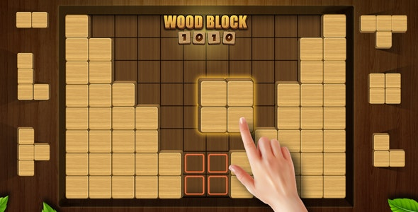 Wood Block Puzzle - CodeCanyon Item for Sale
