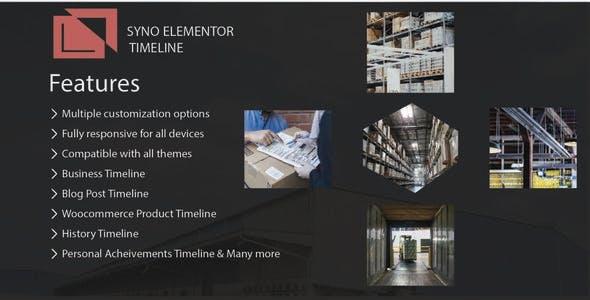 Syno Elementor Timeline Widget