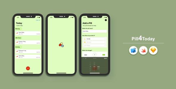 Pill4Today - Pill Reminder iOS App