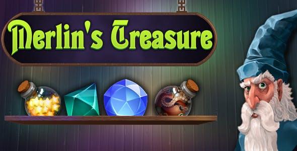 Merlin's Treasure - match3, capx