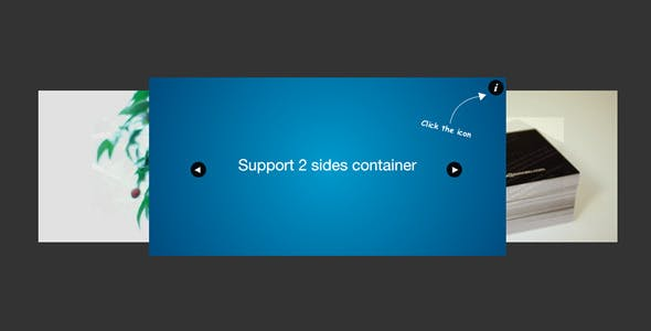 jQuery Carousel 2 Sides Slider Plugin