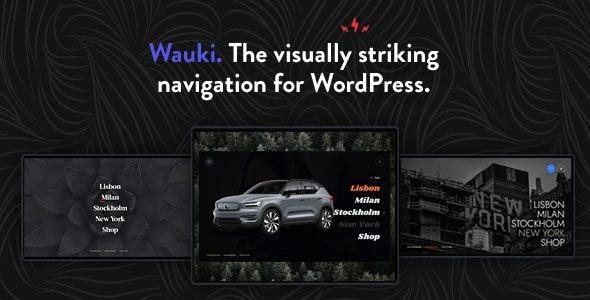 Wauki: Responsive WordPress Menu - CodeCanyon Item for Sale