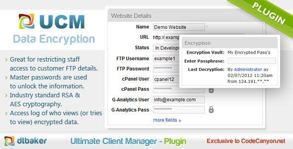 CRM Client Encryption