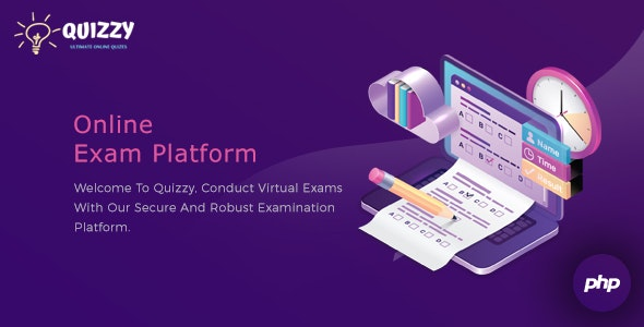 Quizzy: Online Examination Platform - CodeCanyon Item for Sale