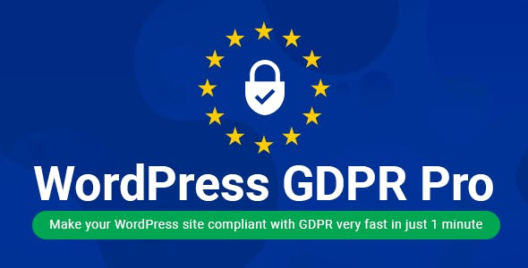 WordPress GDPR + CCPA + DPA Compliance 2021