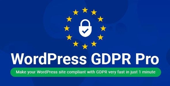 WordPress GDPR + CCPA + DPA Compliance 2021 - CodeCanyon Item for Sale