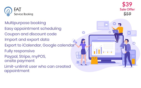Fat Services Booking - Automated Booking and Online Scheduling - CodeCanyon Item for Sale