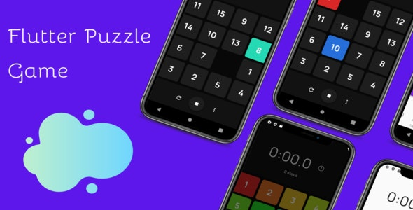 Flutter Puzzle Game - CodeCanyon Item for Sale