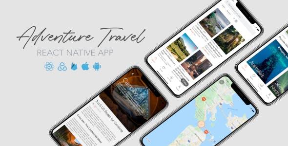 Adventure Travel - React Native App