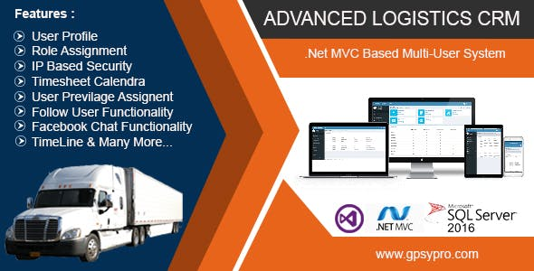 ADVANCED LOGISTICS CRM
