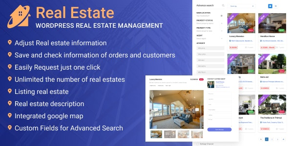 WordPress Real Estate Management - CodeCanyon Item for Sale