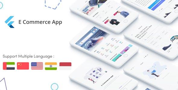 Flutter E-Commerce UI KIT Template in flutter