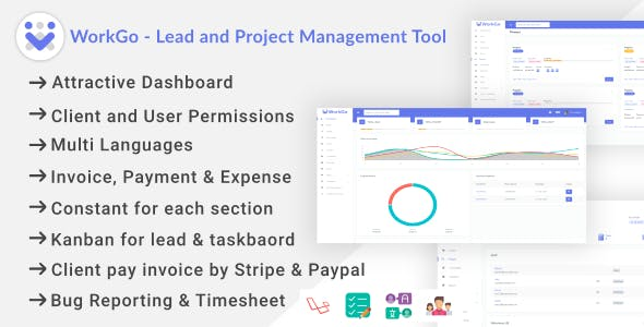 WorkGo - Lead and Project Management Tool