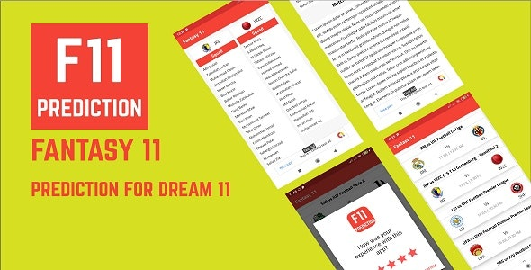 Fantasy 11 - Fantasy Tips For Dream 11 - CodeCanyon Item for Sale