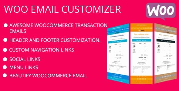 Ultimate WooCommerce Email Customizer