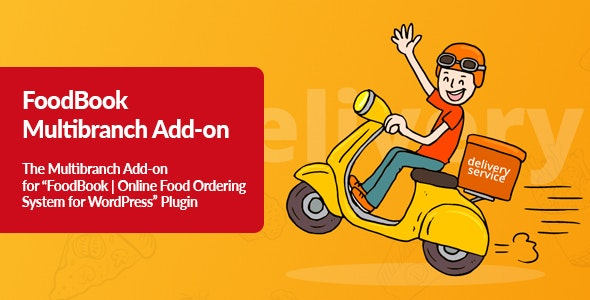 FoodBook Multibranch Add-on - CodeCanyon Item for Sale