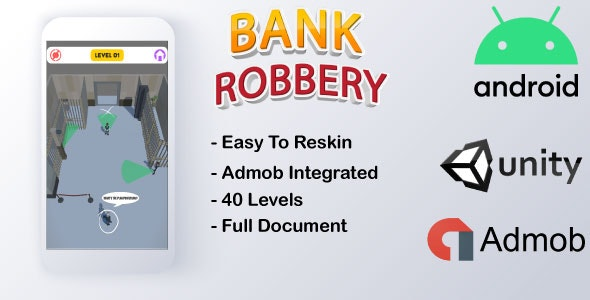 Bank Robbery(Mobile Game) | Unity - CodeCanyon Item for Sale