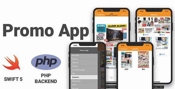 PromoApp Full iOS Application