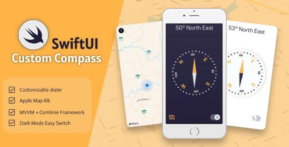 SwiftUI Custom Compass
