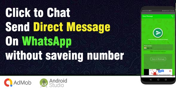 Easy Message : Direct chat without contact