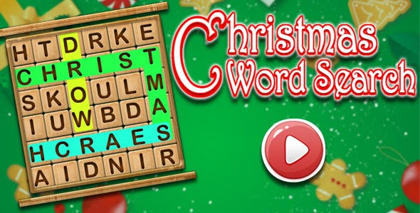 Words Search - Christmas Edition