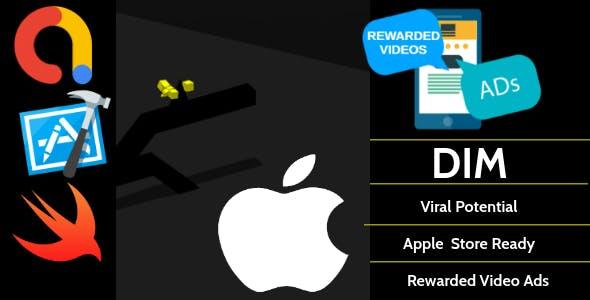 Dim - xCode - iPhone - iOS Game - AdMob Ads Reward Video