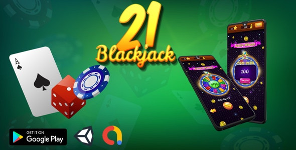 Blackjack 21 - Casino card game - CodeCanyon Item for Sale